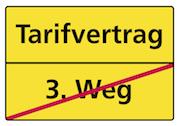 Tarifvertrag - kein 3. Weg